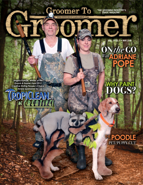 Groomer to groomer magazine - intergrooming - Raccoon Dog