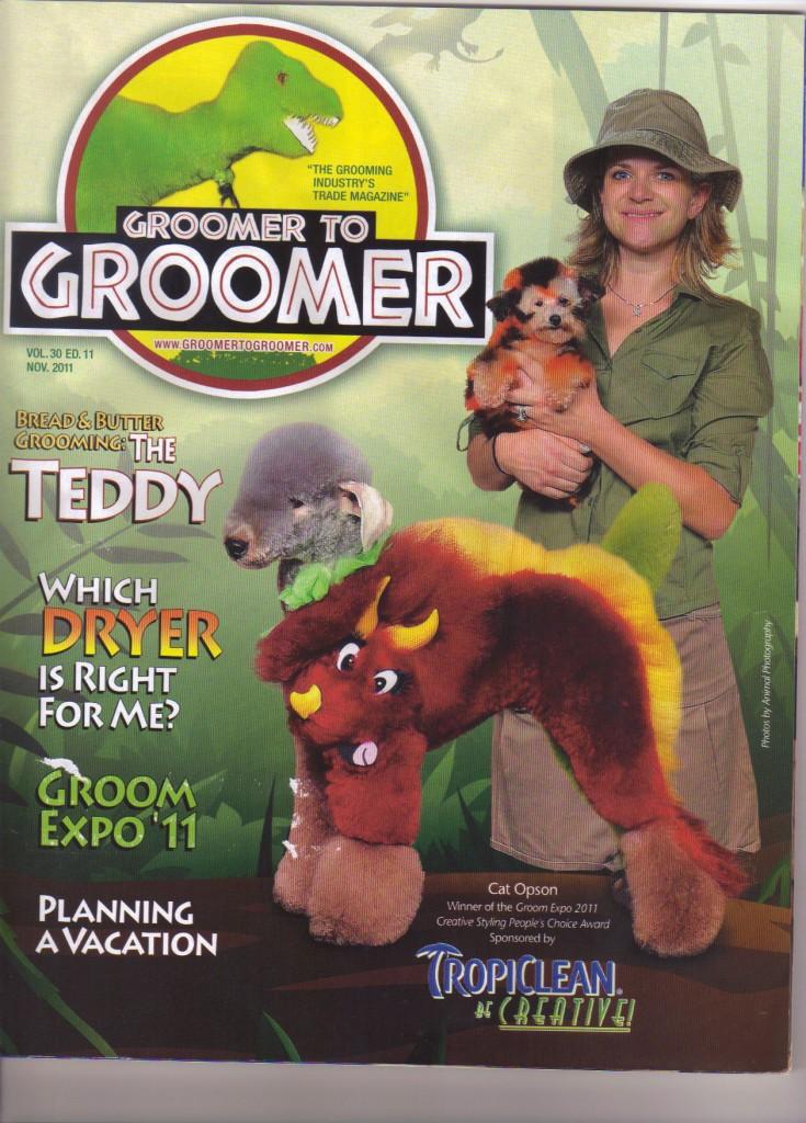 Groomer to groomer magazine - intergrooming - dinosaur