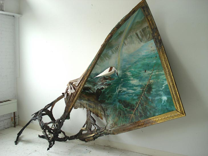 Valerie Hegarty - destructive art - niagra Falls