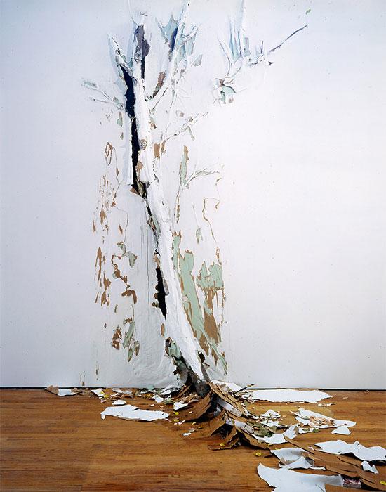 Valerie Hegarty - destructive art - the riuons