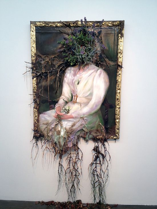 Valerie Hegarty - destructive art - unk