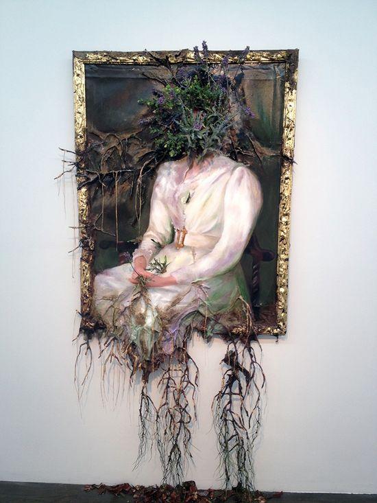Valerie Hegarty - destructive art - unk