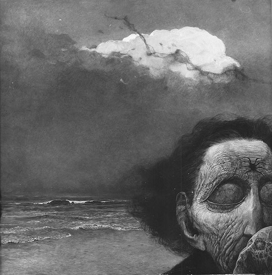 Zdzisław Beksiński: Terrifying Visions Of Hell By Murdered ...