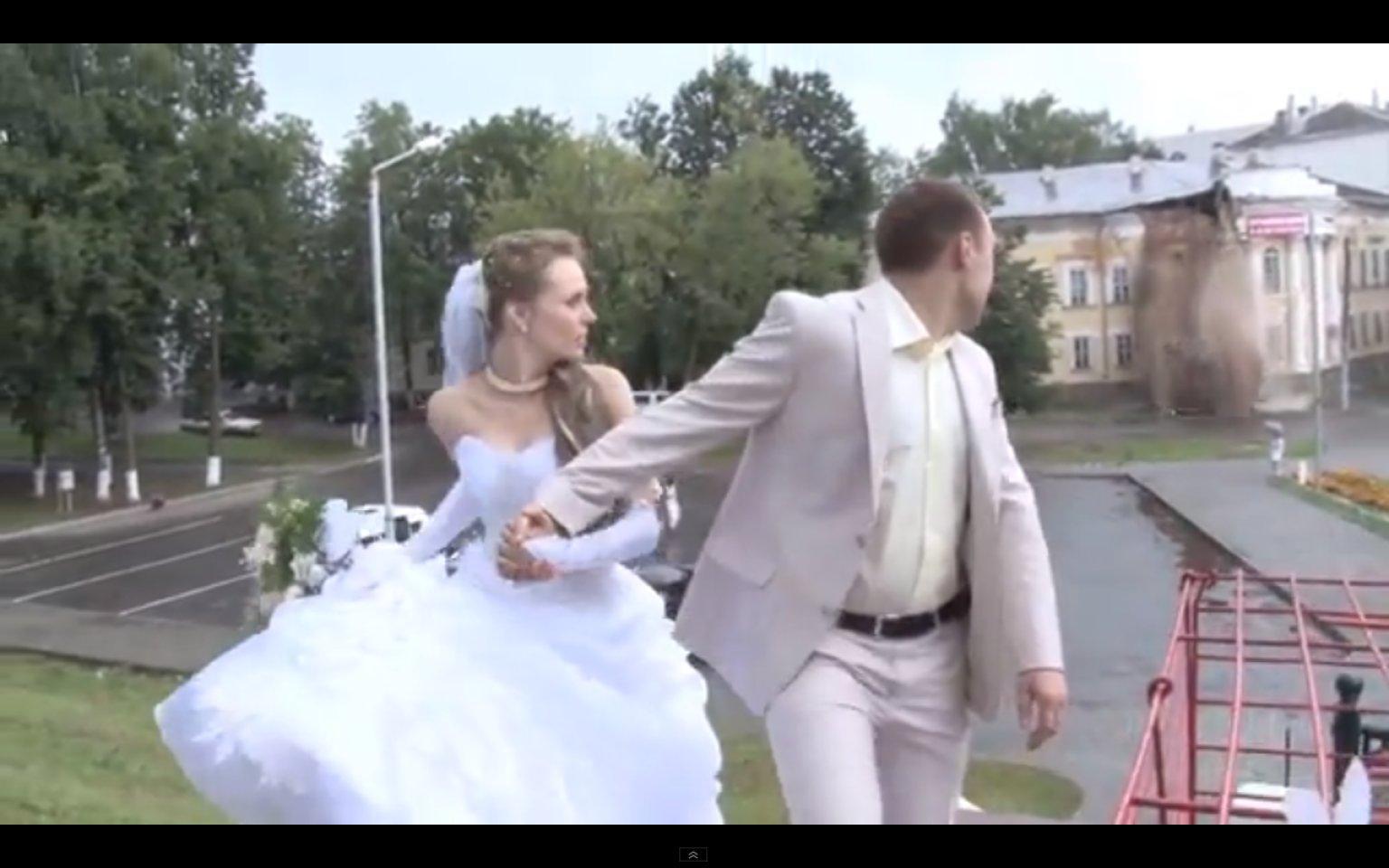 Russian Wedding Building Collaps Video Bad Omen Lazer Horse