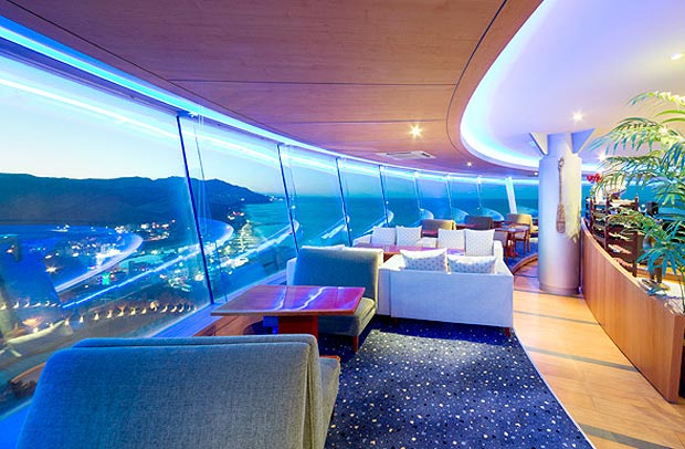 Sun Cruise Resort South Korea Luxury Hotel Restaurant Lazer Horse